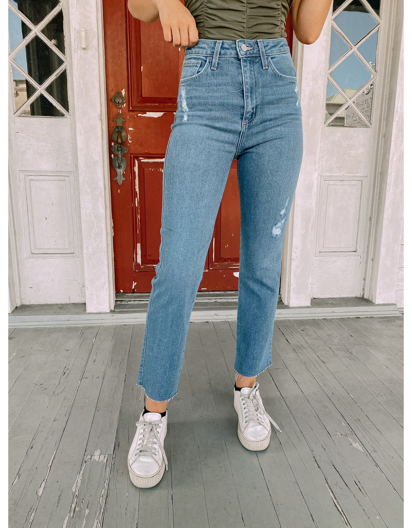 Jackie Straight Leg Denim