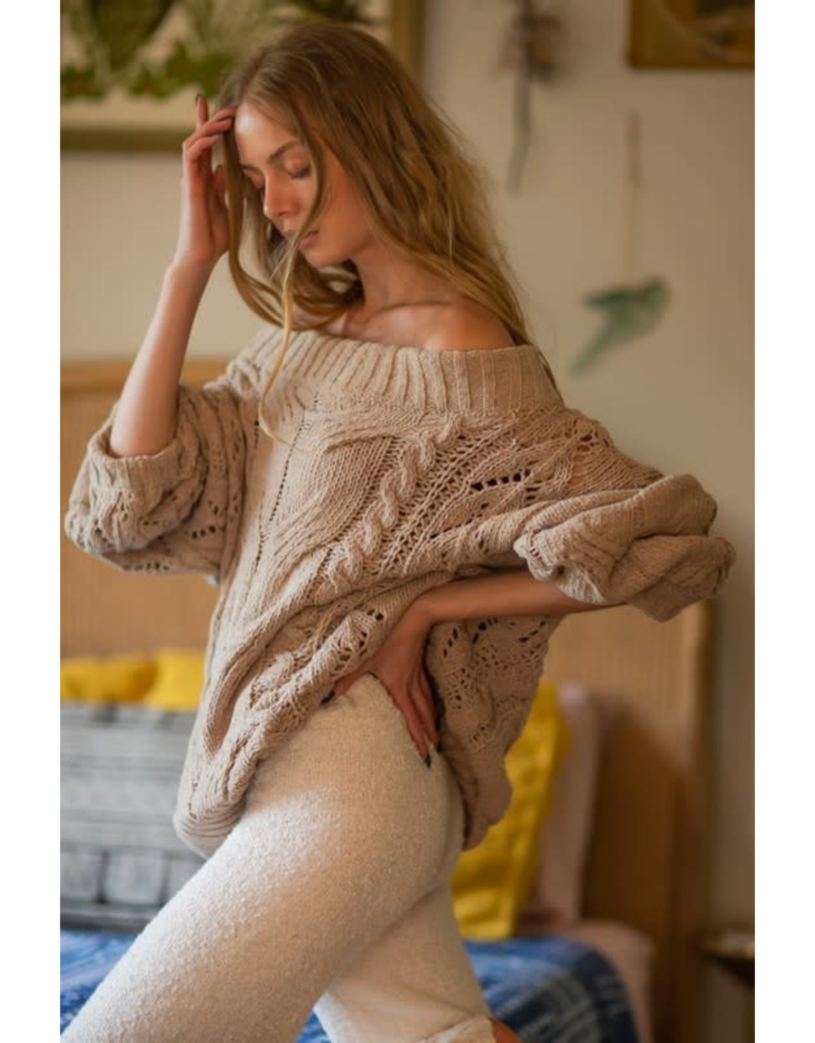 Beside The Fireplace Sweater