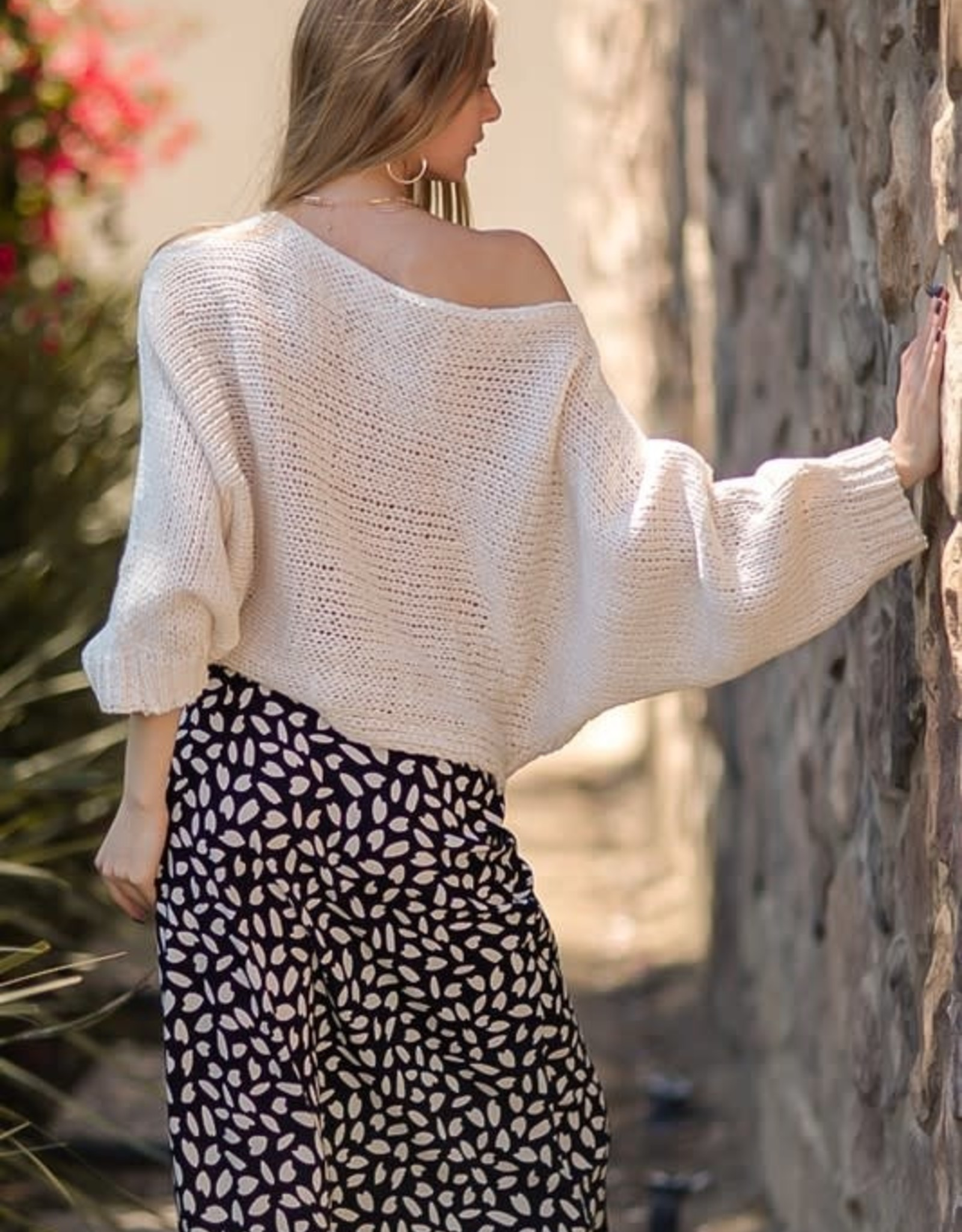 On The Back Road Sweater