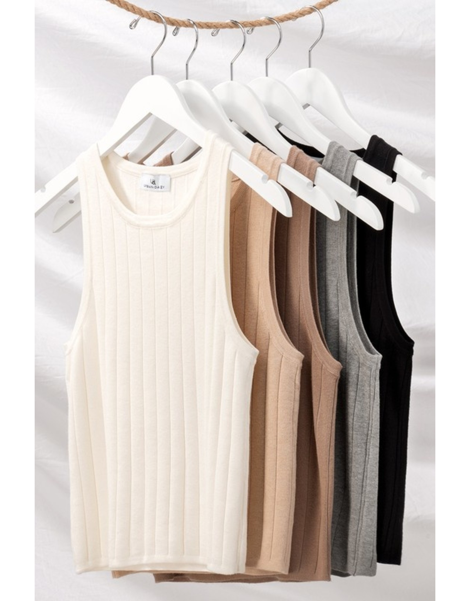 Timeless Ribbed Tank