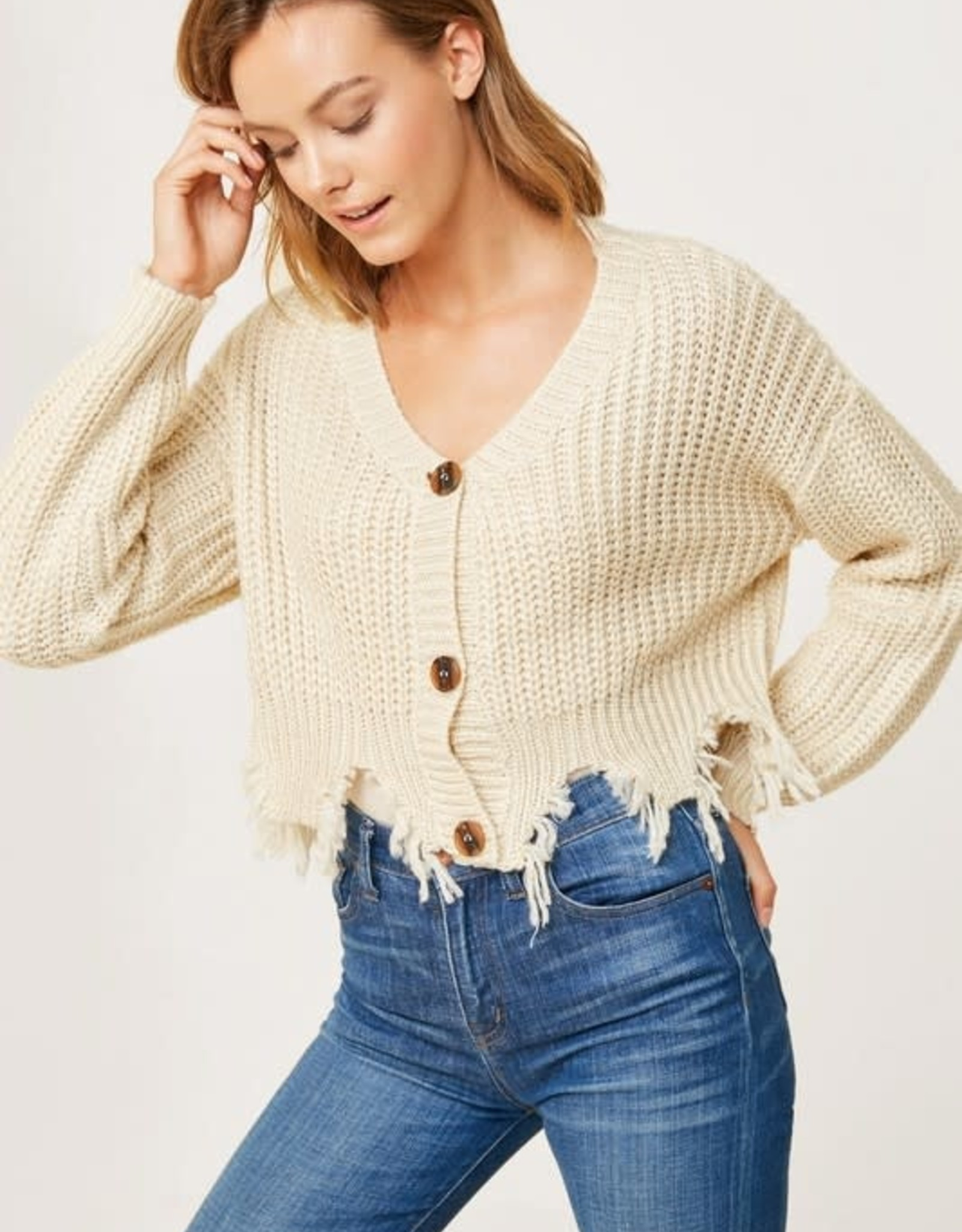 Carrie Cropped Sweater