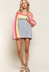 Rainbow Cake Sweater