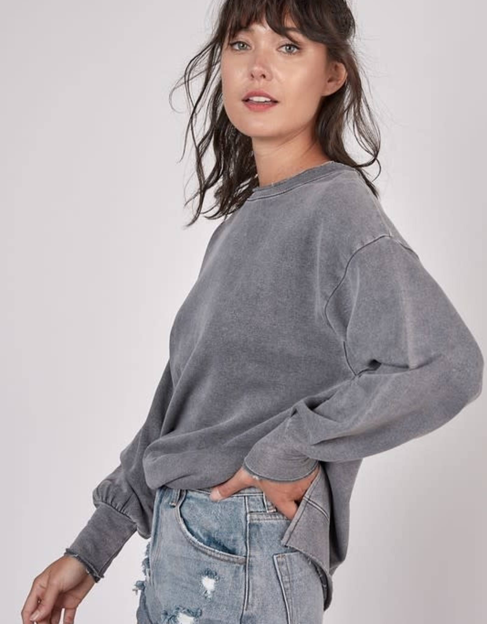 Staying Home Pullover