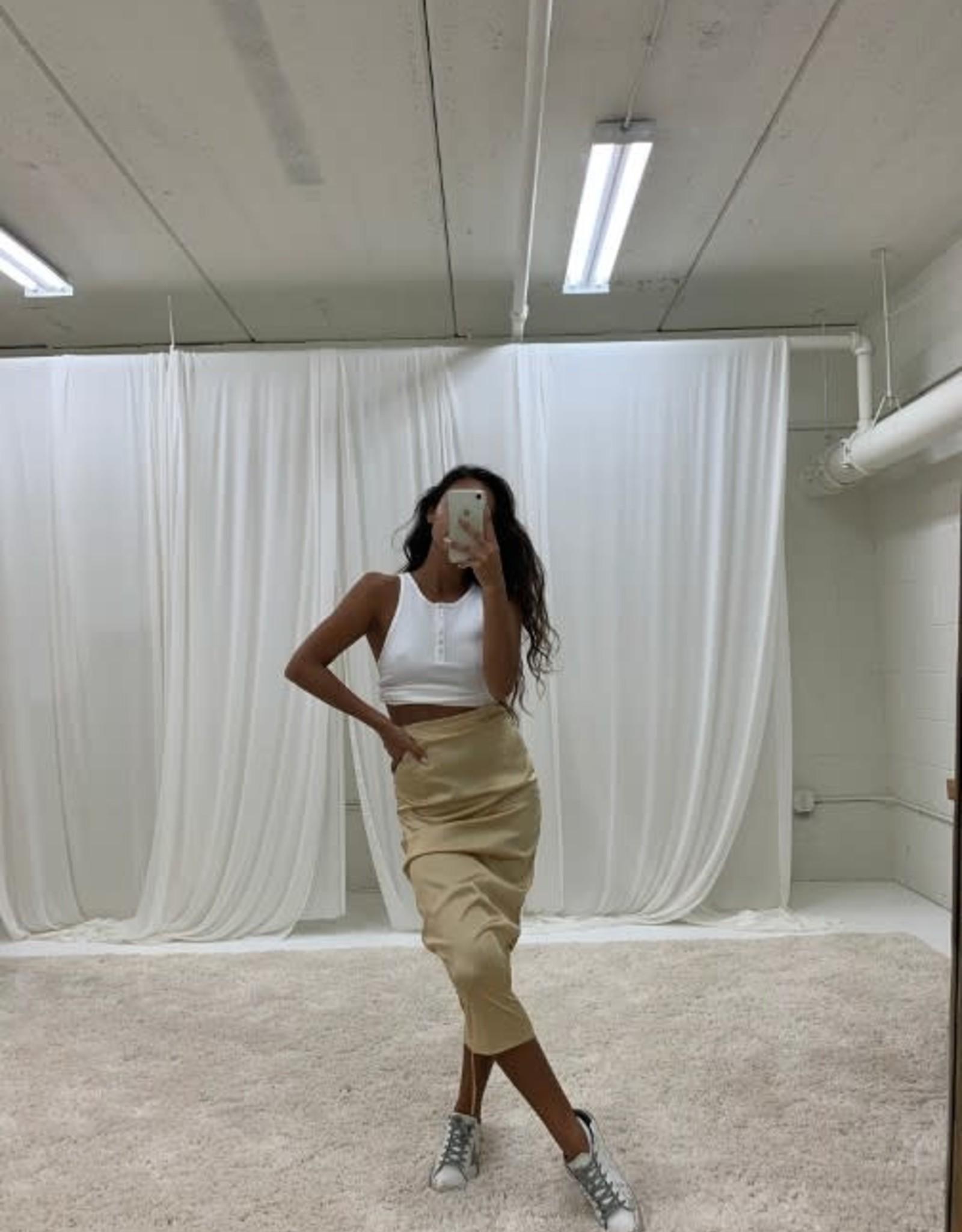 The Essentials Midi Skirt