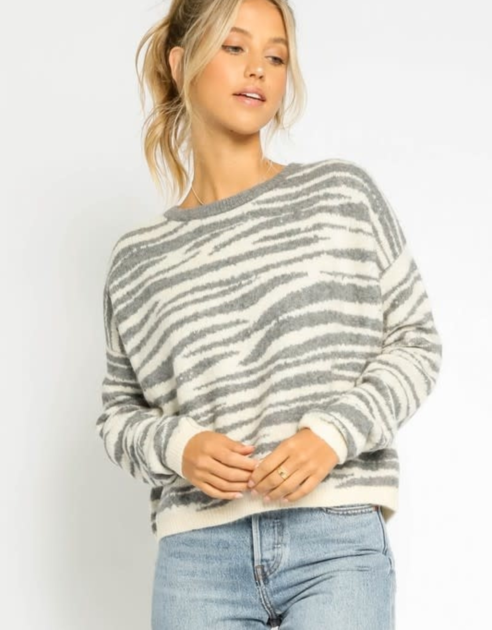 All About The Stripes Sweater