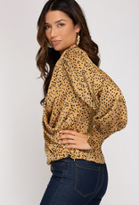 On The Prowl Blouse