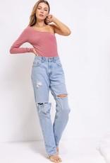 Emory One Shoulder Bodysuit