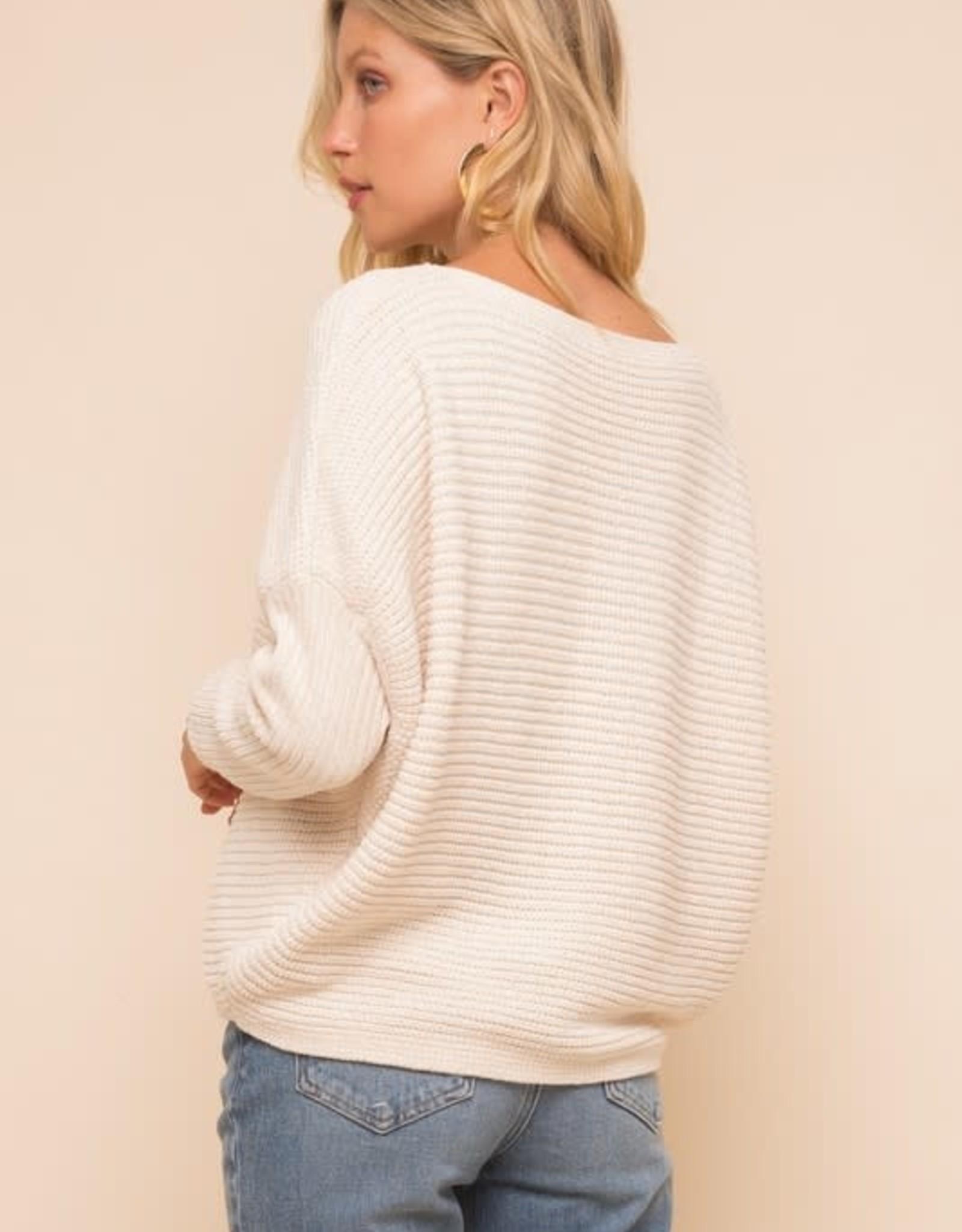 Easy Like Sunday Morning Sweater