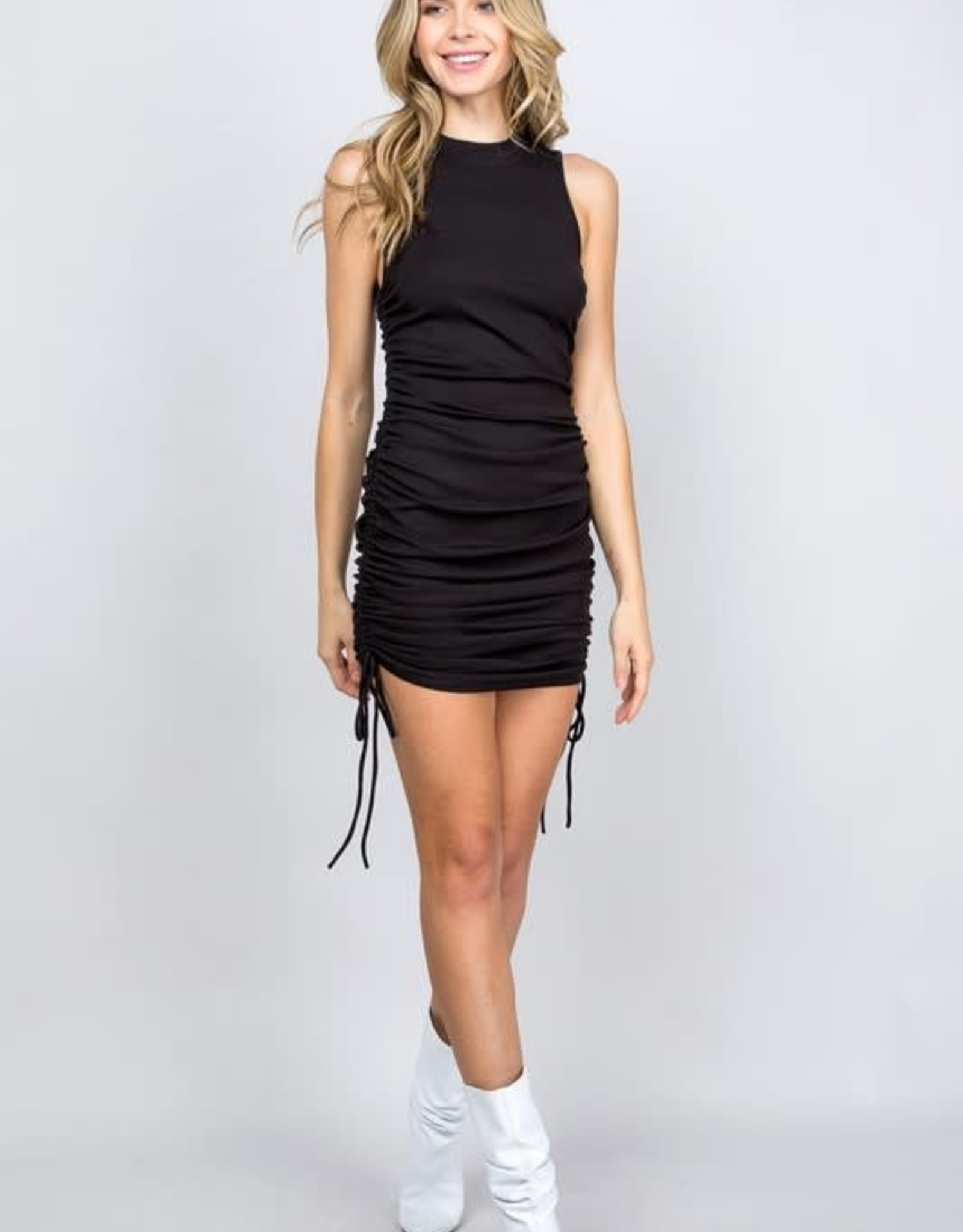 Life Of The Party Scrunch Dress