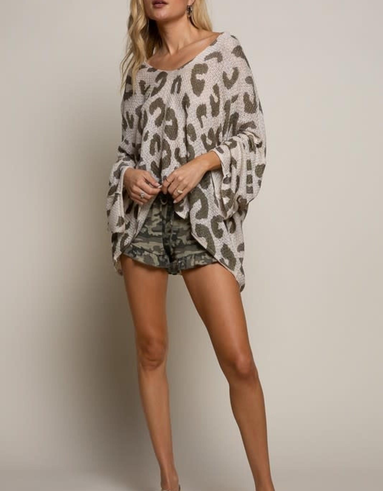 On Spot Leopard Hoodie