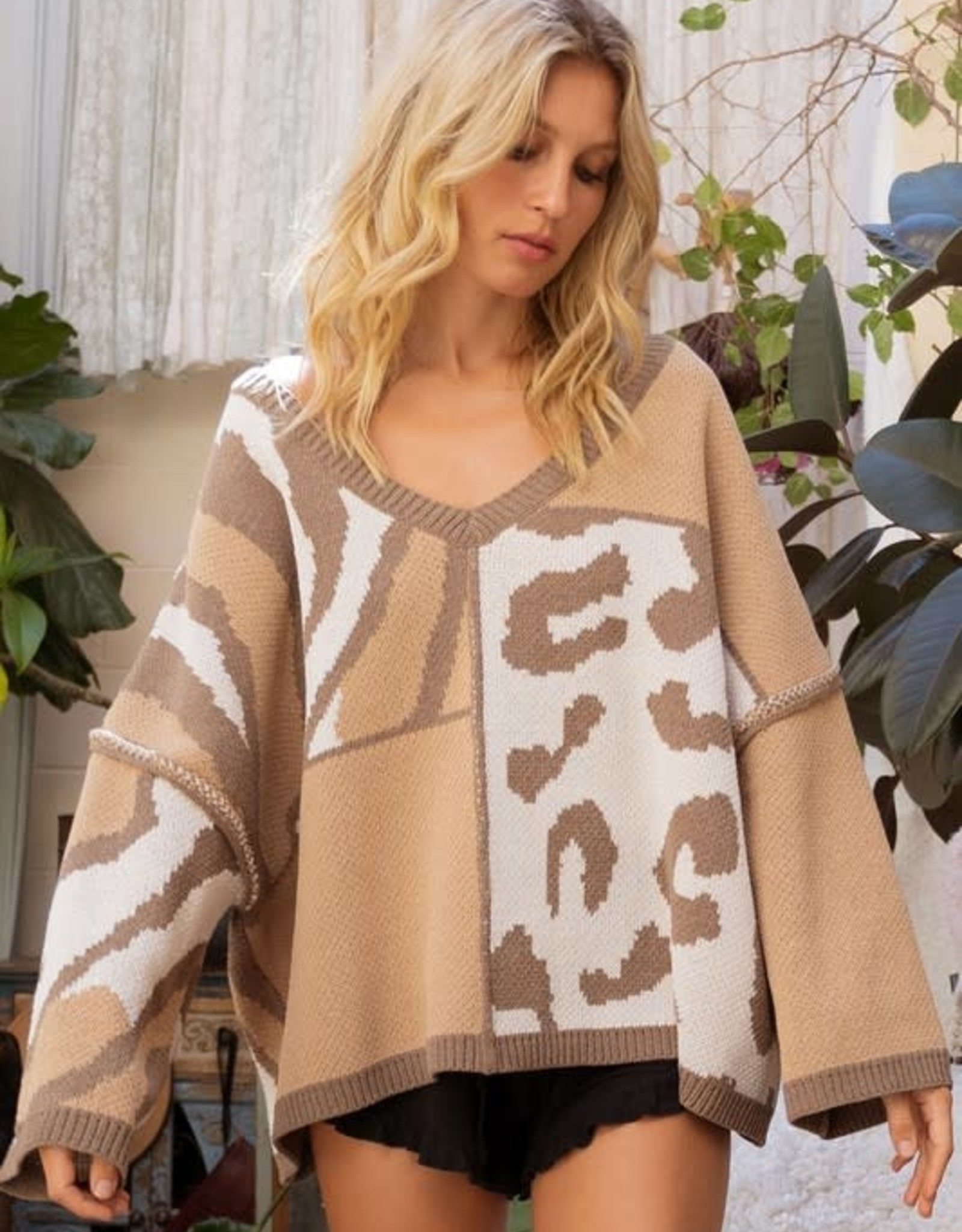 Perfect Patch Sweater