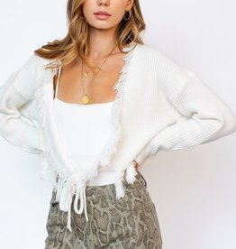Might Be In Love Wrap Sweater