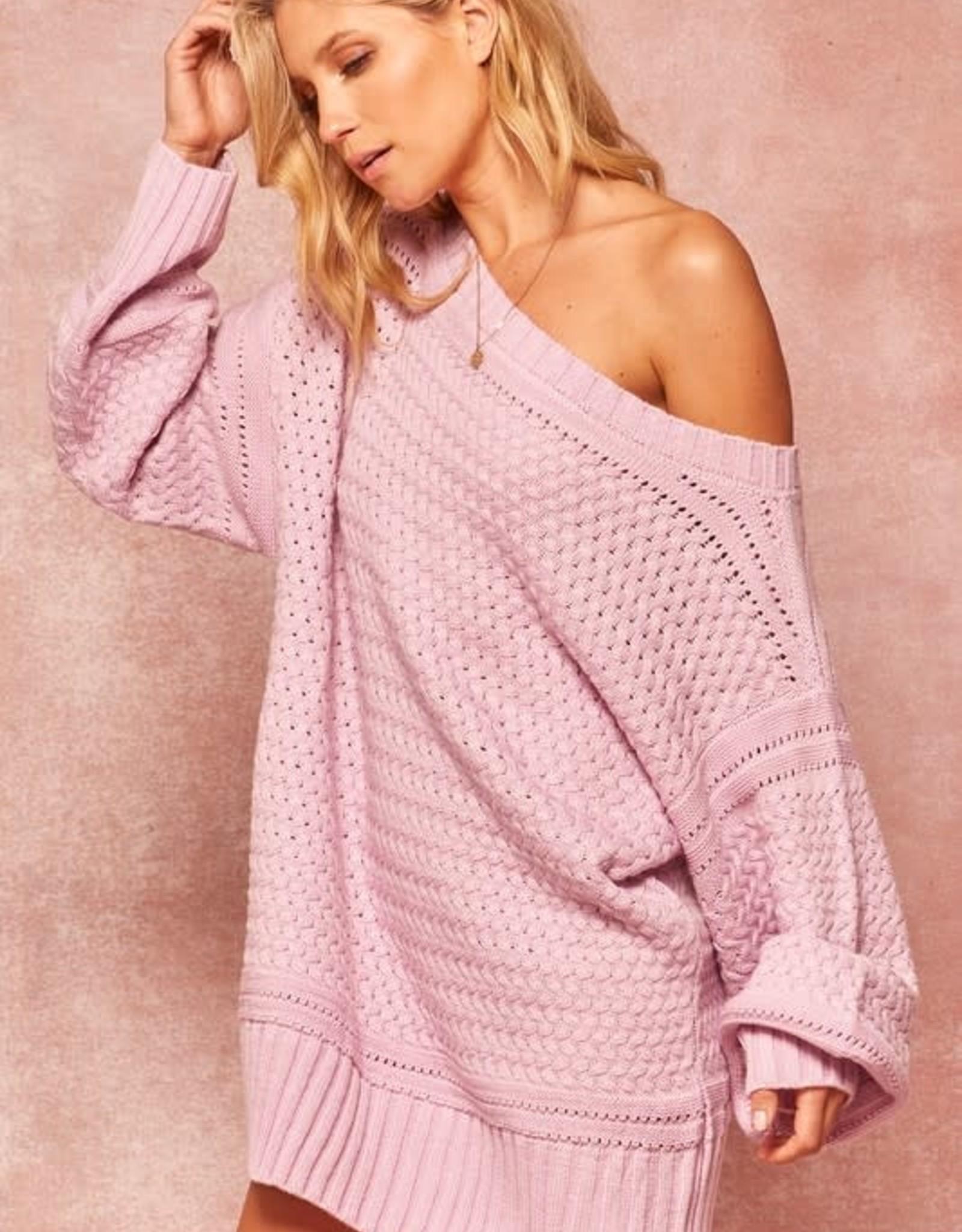 Lean On Me Sweater Dress