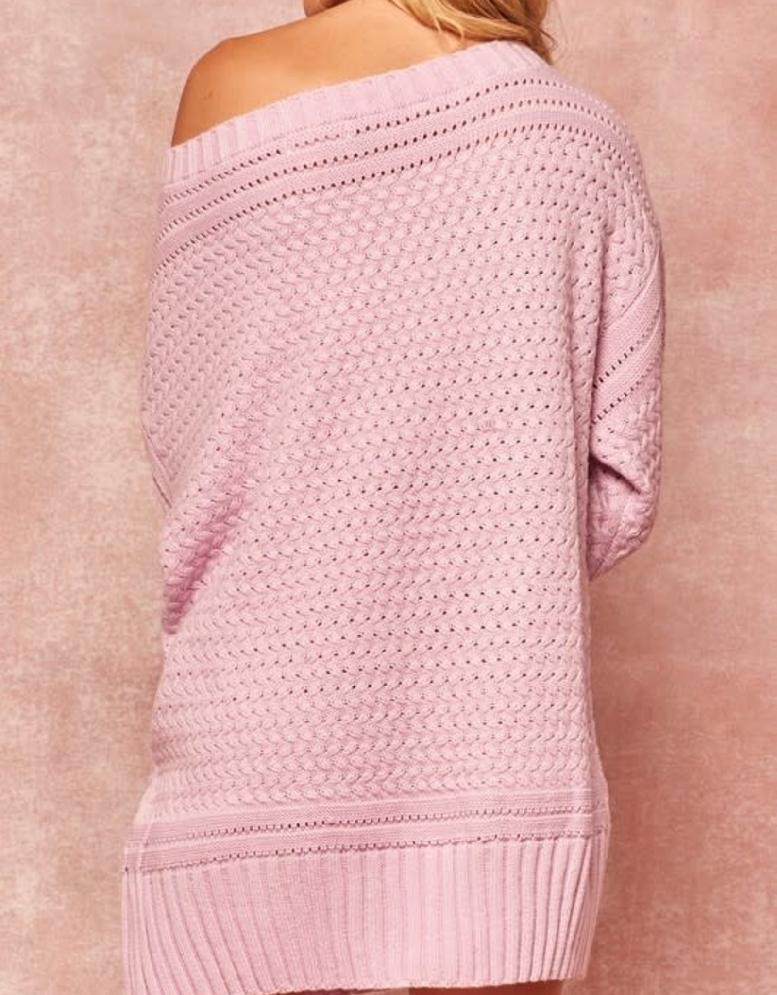 Lean On Me Sweater Dress