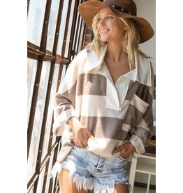 On The Side Line Pullover