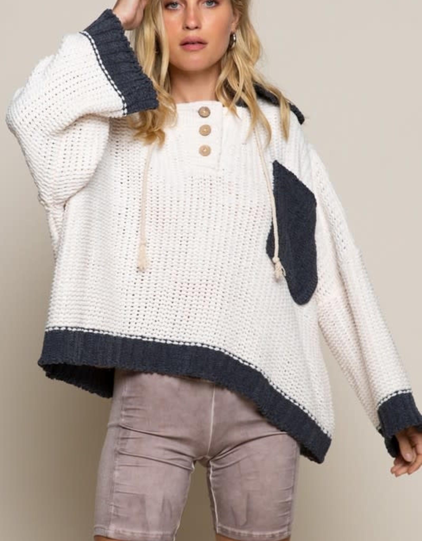 Pocket Stitched Sweater