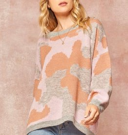 Ink Blot Sweater