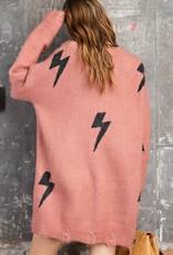 When Lightning Strikes Sweater Dress