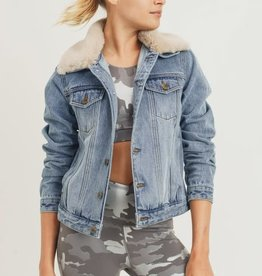 Cozy Kisses Denim Jacket