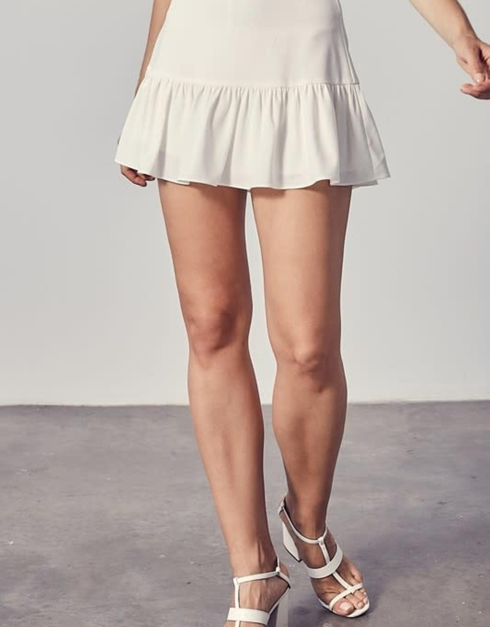 Palmer Ruffle Mini Skirt