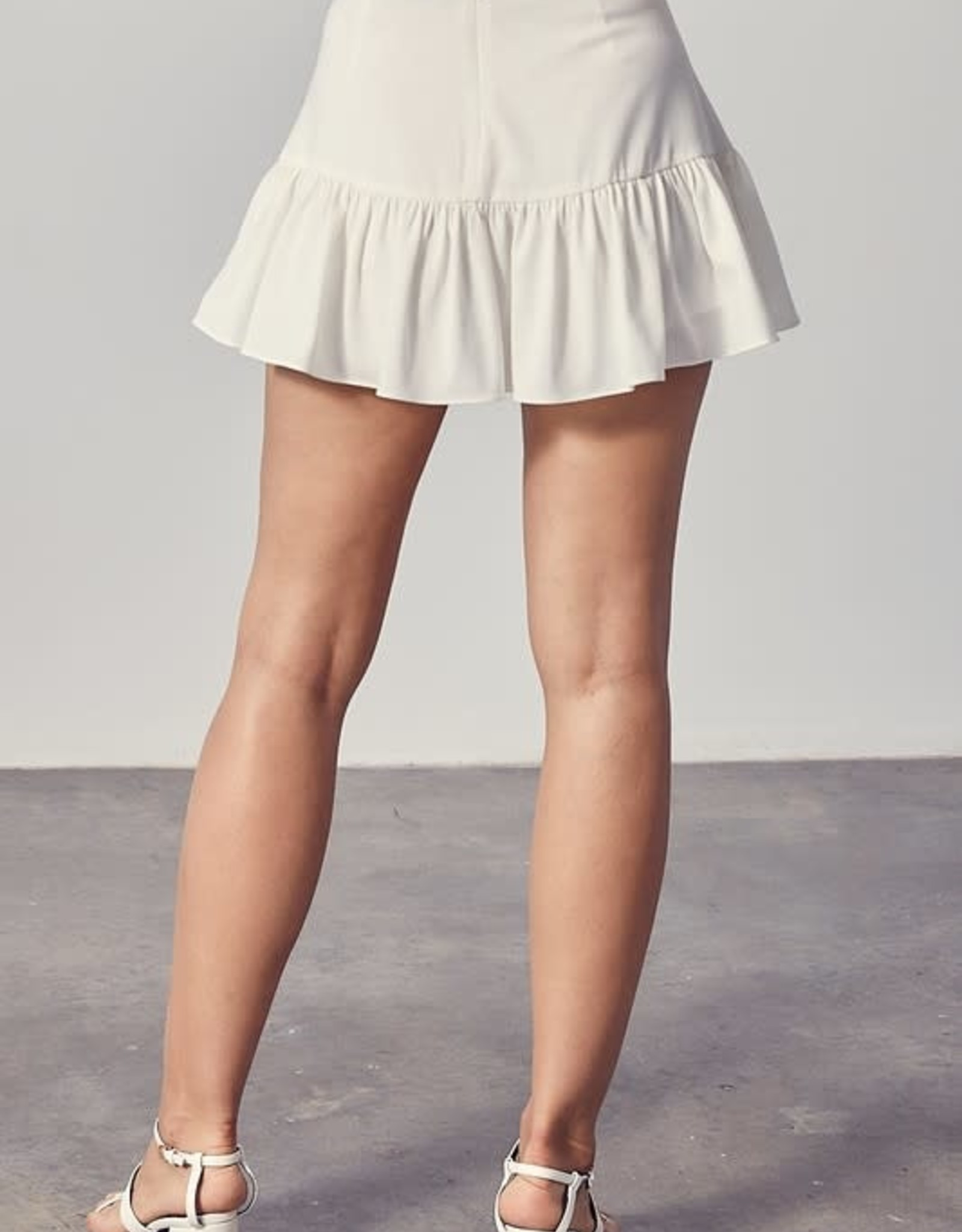 Palmer Ruffle Mini Skirt
