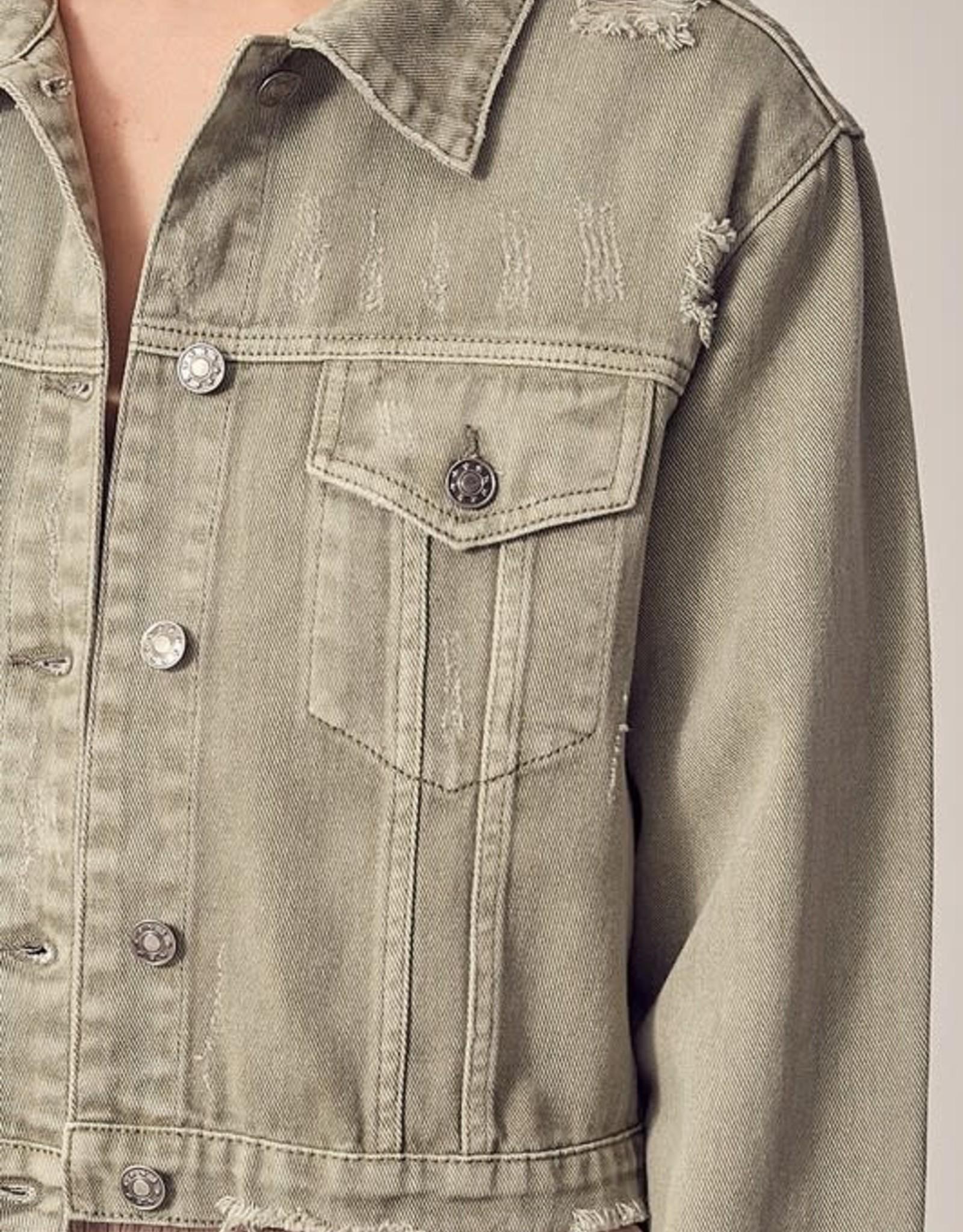 Slash Denim Jacket