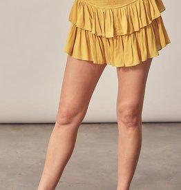 Tara Ruffle Mini Skirt