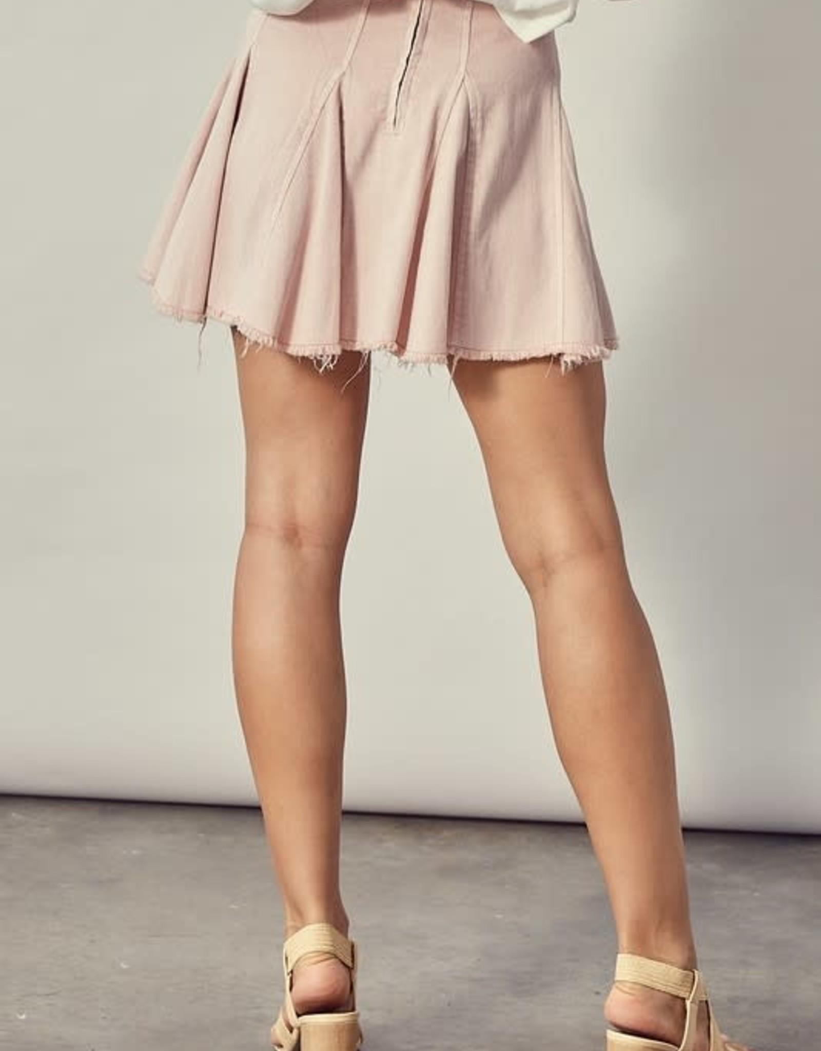 Greta Denim Skirt