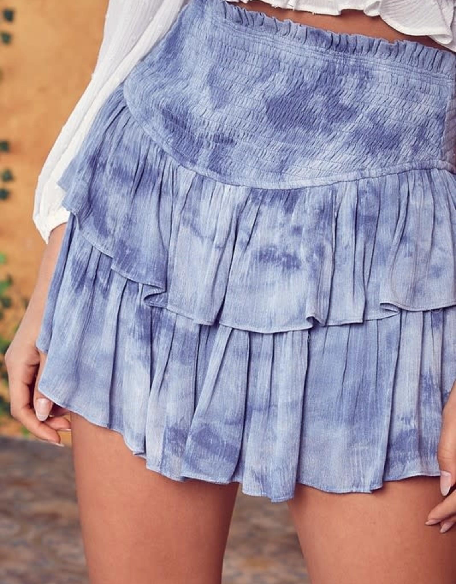 Washed Up Mini Skirt