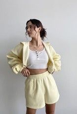 Busy and Busy Cropped Hoodie