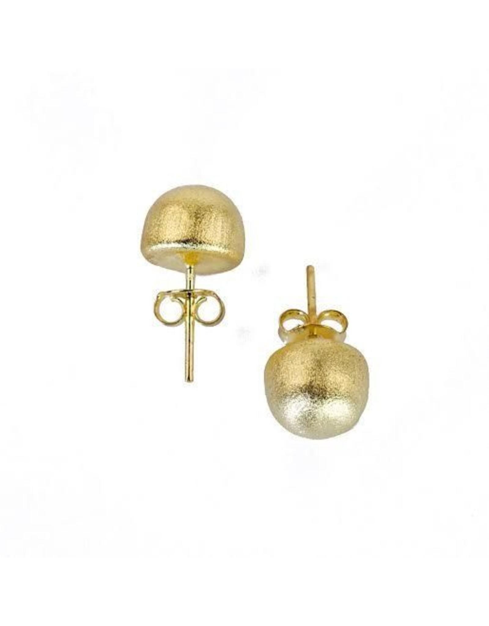 Sheila Fajl Lilou Little Gold Ball Earrings