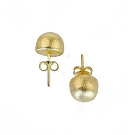 Sheila Fajl Lilou Little Gold Ball Earrings