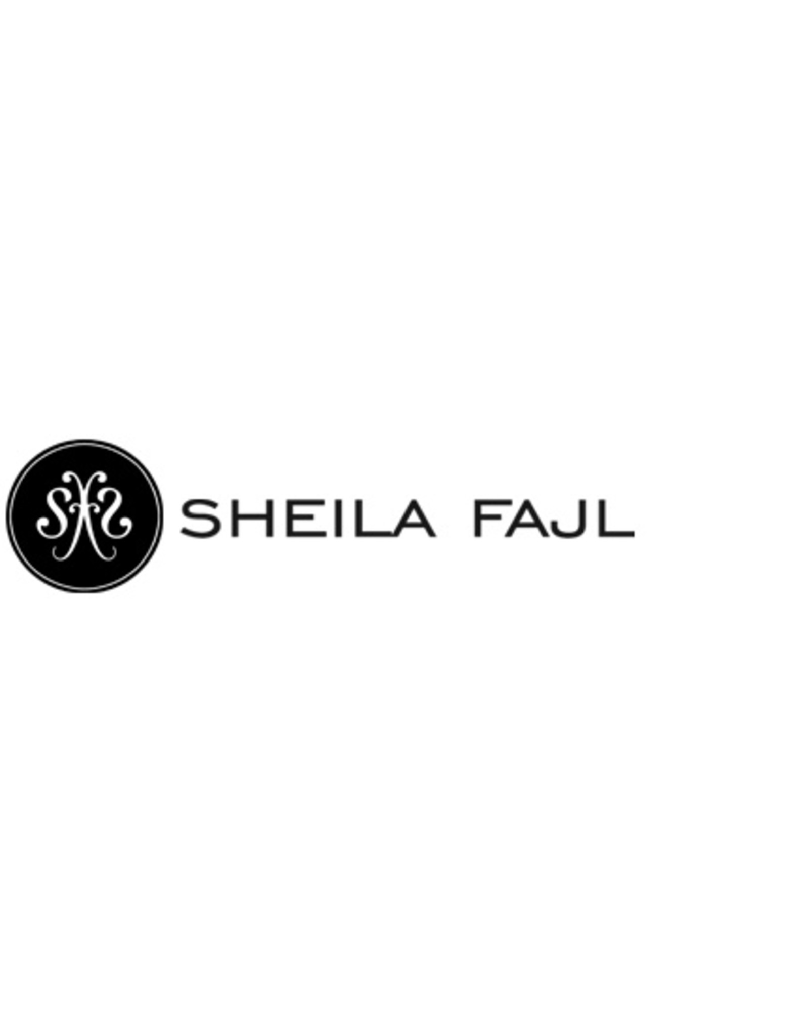 Sheila Fajl Thin Flat Hoops