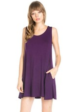 Cross Me Over Game Day Dress