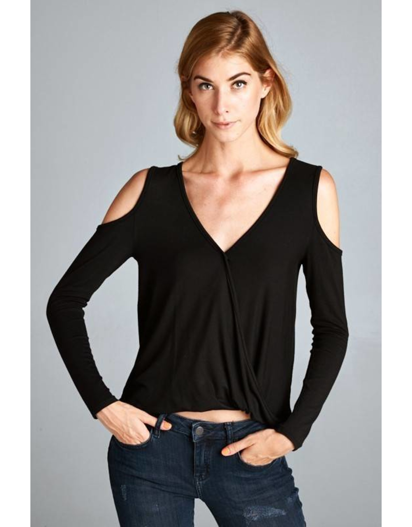 Danny Cold Shoulder Top