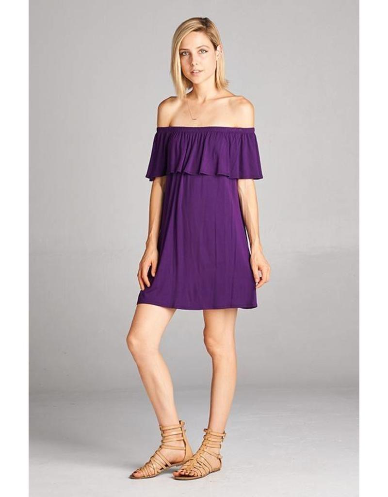 Off The Shoulder Pee Dee Dress