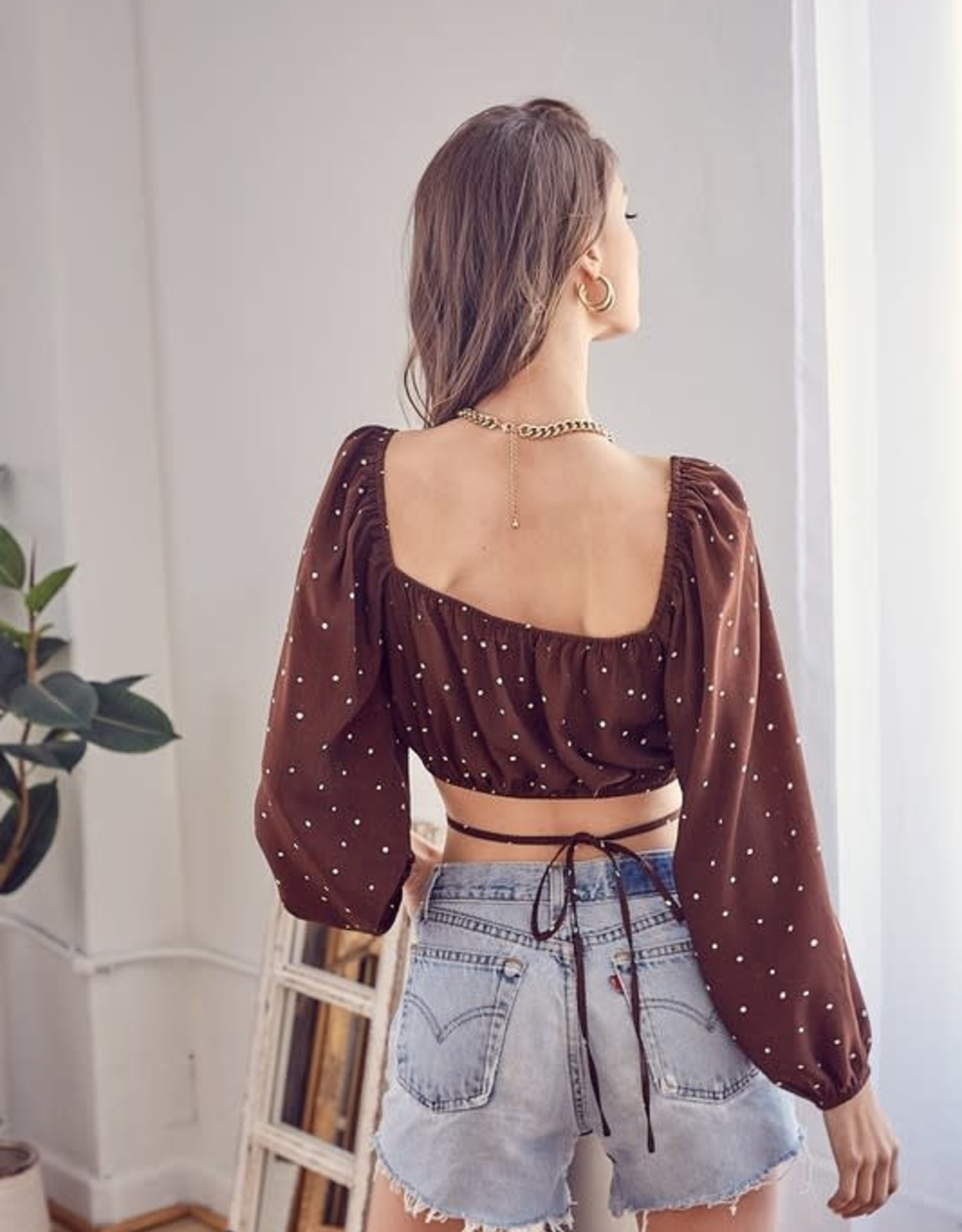 Darby Dot Top