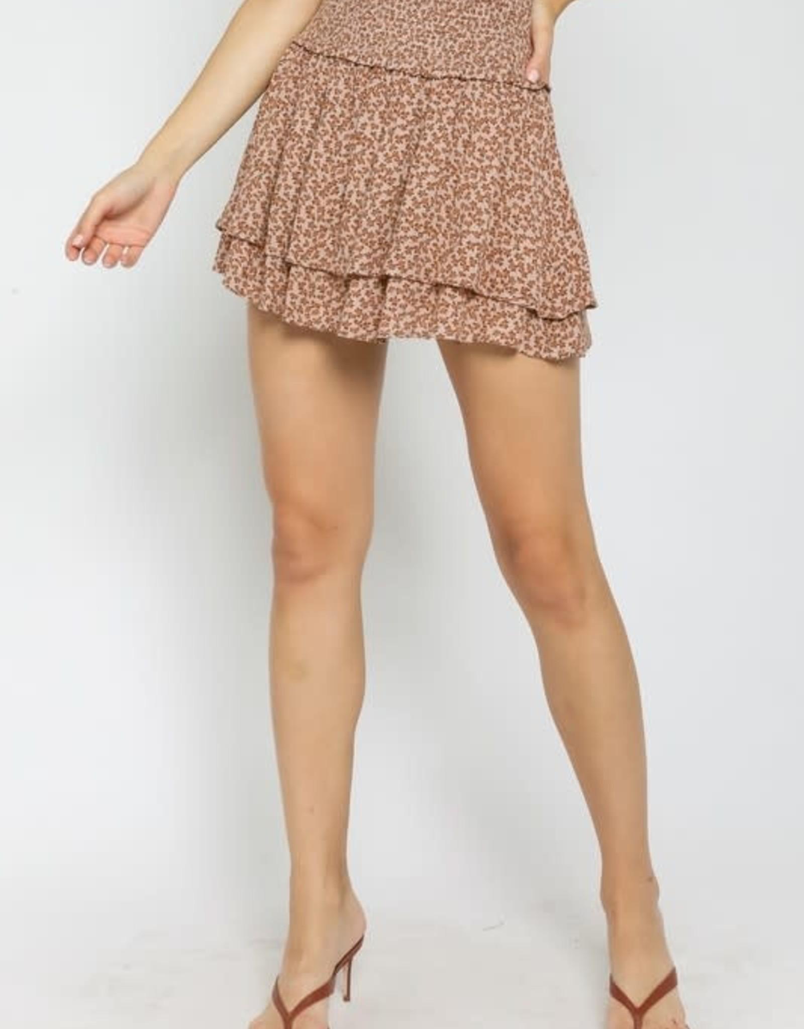 Cotton Fields Mini Skirt