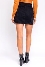 Roll Pirates Denim Skirt
