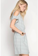 Claire Striped Dress