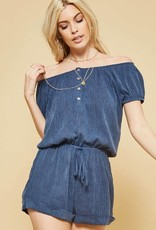 Falling for You Romper
