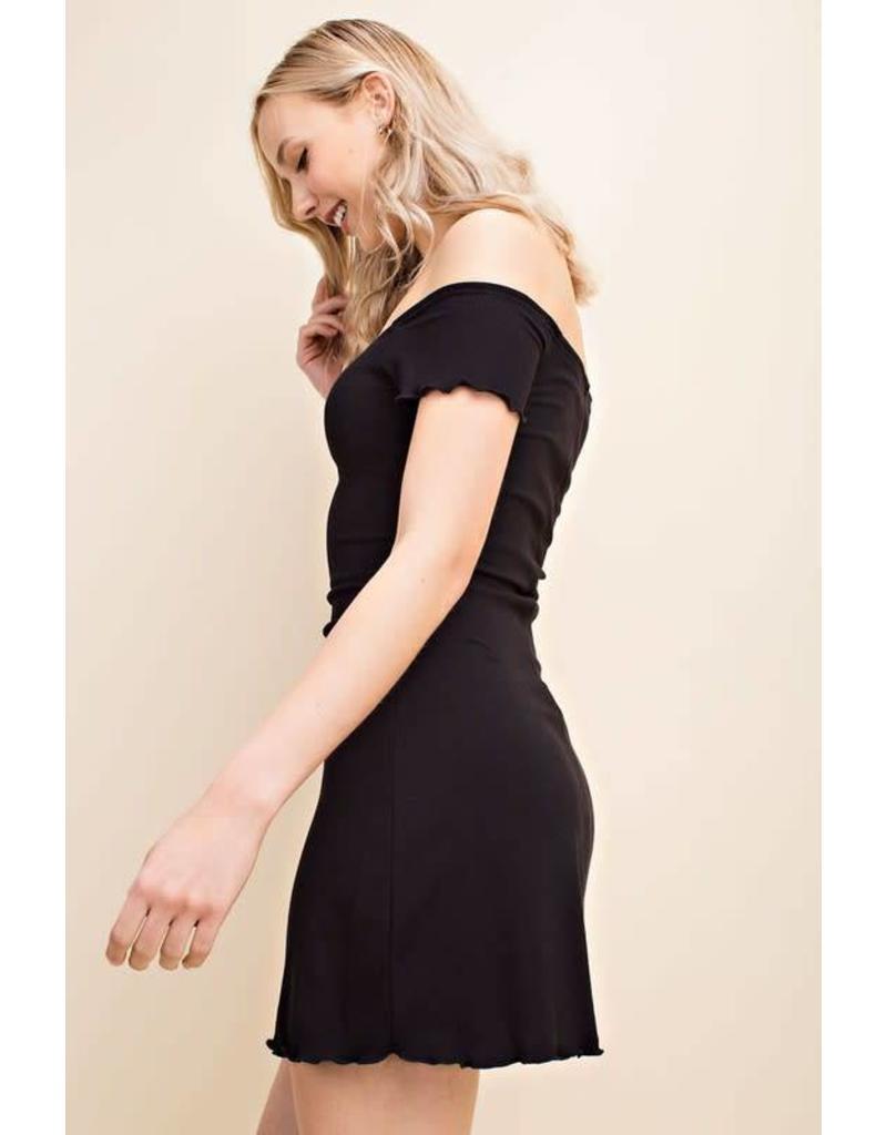 Audrey Off The Shoulder Dress