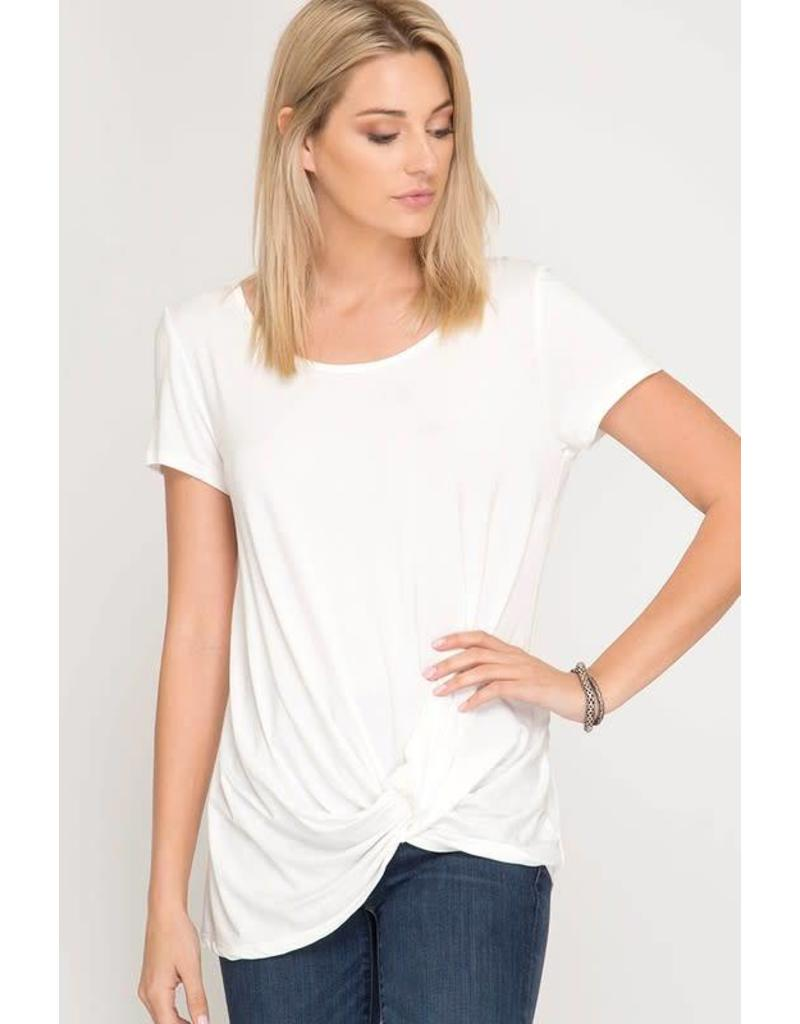 Knot My Intention Basic Top