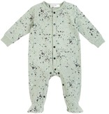 Miles Baby FW18 Pyjama Manches Longues Vert Moucheté - Miles Baby