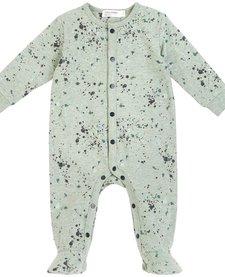 FW18 Pyjama Manches Longues Vert Moucheté - Miles Baby
