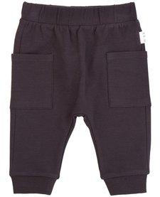 FW18 Pantalon Tricot Gris Foncé - Miles Baby