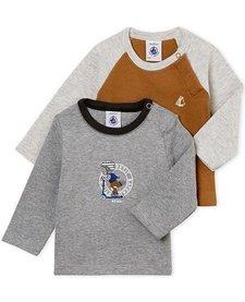 FW18 Lot de 2 Chandails à Manches Longues Trottinette / Petit Bateau / Long sleeves Shirt