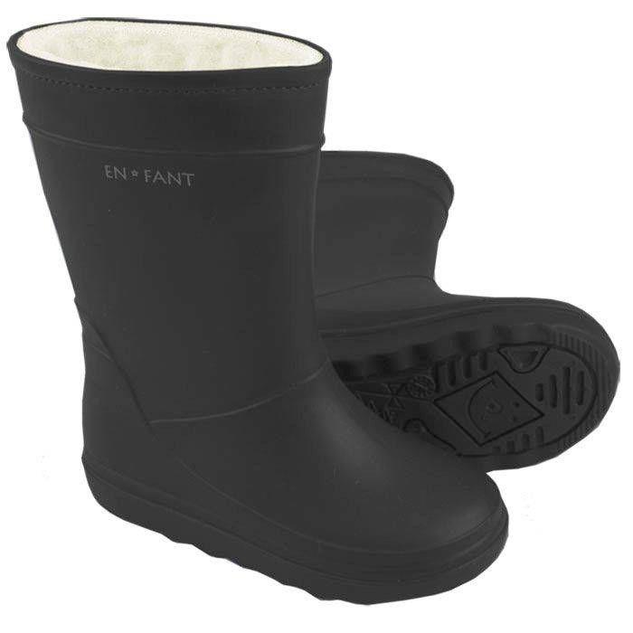 Enfant Bottes de Pluie Doublé en Laine et Polyester - ENFANT / Rain Boots