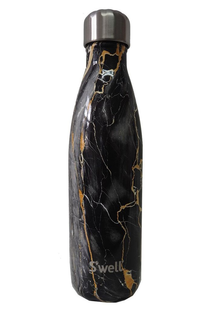S'Well Bouteille S'well 500mL Bahamas Gold Marble /S'well Bottle Bahamas Gold Marble 17oz