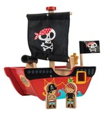 Le Toy Van Bateau de Pirate Petit Capitaine